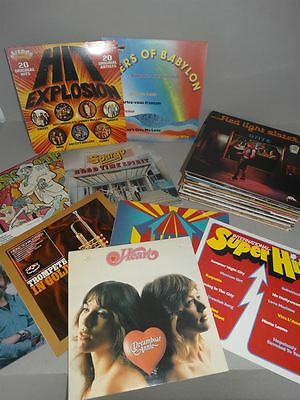 39 LPs Pop Rock Volksmusik - Madness Lindisfarne Spinners Heart Spargo - 1980