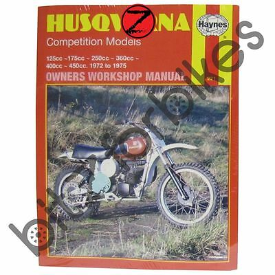 Haynes Motorcycle Manual Husqvarna Competition  Models