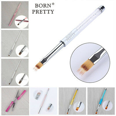 Nail UV Gel Brush Pen Painting Drawing Rhinestone Handle Nail Art Manicure Tools