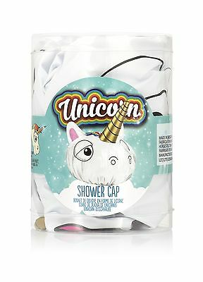 UNICORN Magical Einhorn Shower Cap / DUSCHHAUBE Rockabilly