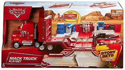 Disney Pixar Cars Mack Truck Playset - CDN64 - New