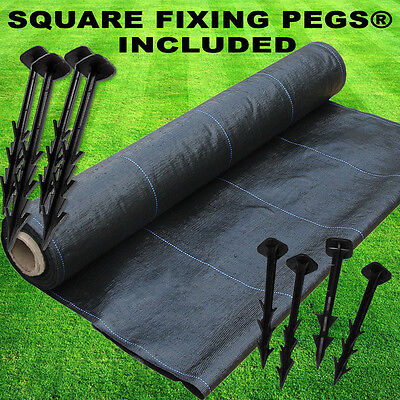 5m x 10m Woven Landscape Membrane Ground Weed Control