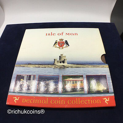 [2011 IOM MSet]1x Isle of Man 2011 Mint Set Coin Collection (9 coins)-UNC
