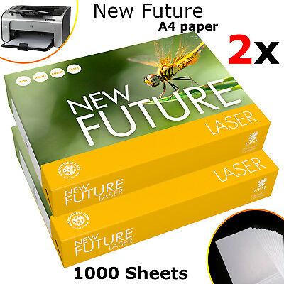 A4 Paper 1000 Sheets (2 Ream) 80GSM Pioneer White (297mm x 210mm) Laser Copier