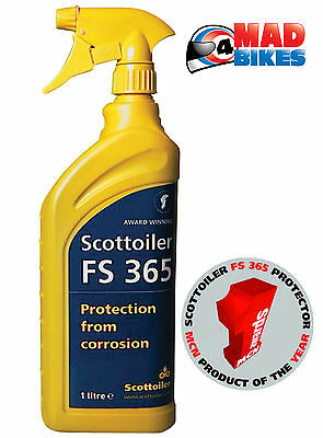 Scottoiler FS365 Motorcycle Motorbike Winter Corrosion Protector 1L Spray