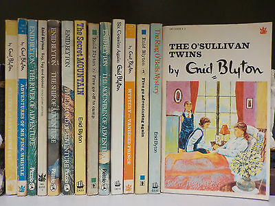 Enid Blyton (Various Series) - 14 Books Collection! (ID:43692)