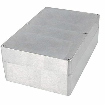 Aluminium Housing Box Elektronik Power supply Montage Distribution 146x222x82 mm