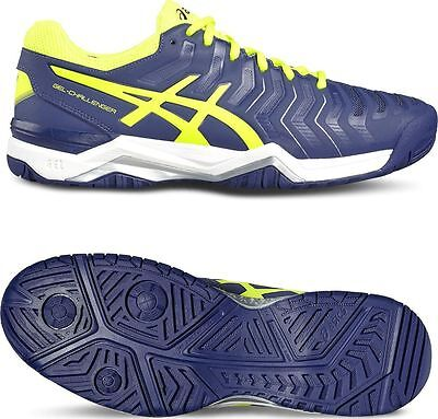 Asics Gel Challenger 11 Mens Sports All Court Trainers Shoes BLUE E703Y UK 10 45