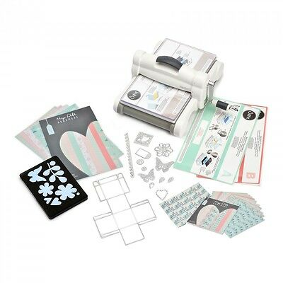 Sizzix Big Shot Plus Starter Set DIN A4 Stanz- u.Prägemaschine 661546