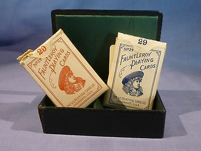 Vintage Fauntleroy Playing Cards Patience Boxed Set
