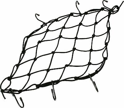 Moto Part Universal Motorcycle Luggage Cargo Net Black