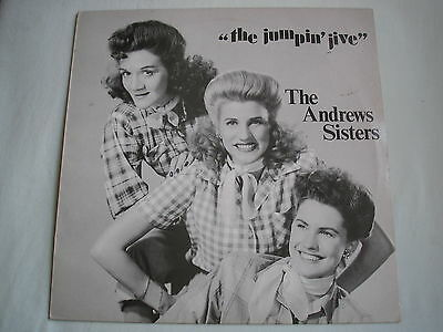 THE ANDREWS SISTERS The Jumpin' Jive UK LP 1984 ex+/ex minus