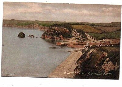 Cornwall,  CHARLESTOWN,  from the East,  Nr. St. Austell