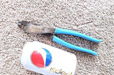 Channellock # 909 Wire Cutting Terminal Crimping Pliers Great Cond Made In Usa