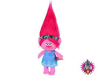 Official Trolls Princess Poppy 37Cm Super Soft Plush Soft Toy New With Tags
