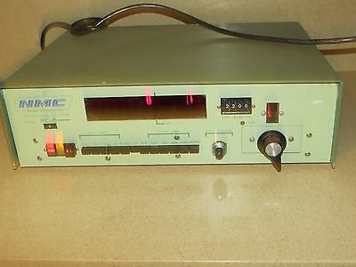 NMC NUCLEAR INSTRUMENTATION MODEL PC-5 PC5 PROPORTIONAL COUNTER -b