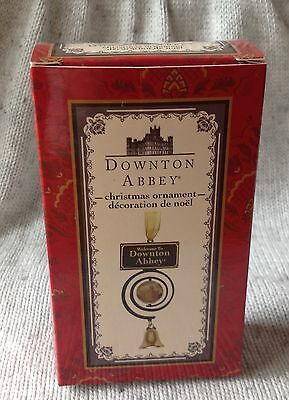 """Downton Abbey Pull Bell Christmas Ornament 4 3/4"""" New in Box"""