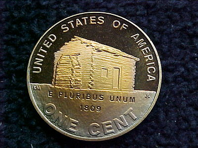 2009 S Lincoln Bicentennial Penny -  Early Years Proof