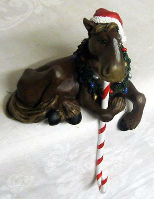 MOOSE CHRISTMAS STOCKING HOLDER ~ Great Piece!