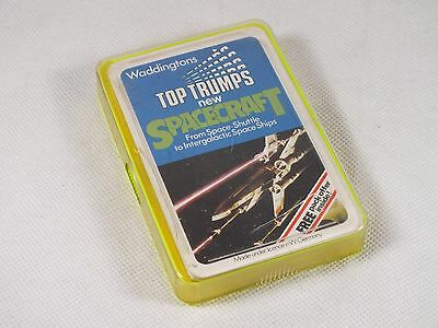 Top Trumps Intergalactic SPACECRAFT 1982 (Star Wars Sci-fi ships) - Complete