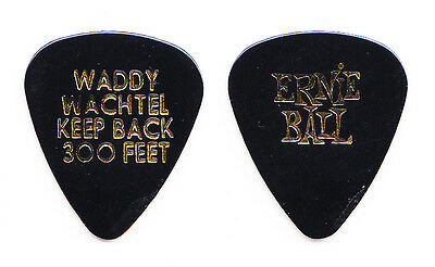 Stevie Nicks Waddy Wachtel Concert-Used Black Guitar Pick - 2008 Tour