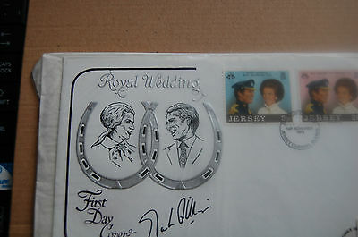 Princess Anne & Mark Phillips Wedding Fdc Signed Mark Phillips 6
