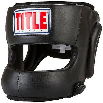 Title Boxing Classic Face Protector Headgear - Youth
