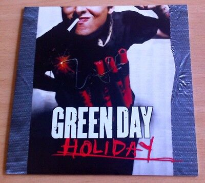 """green day - Holiday  7"""" Vinyl Not Picture Disc Version"""