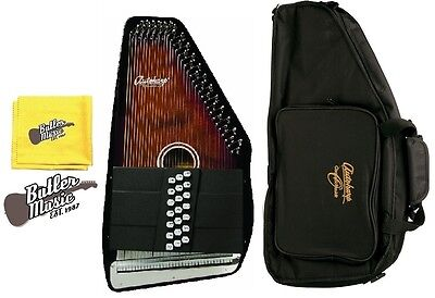 Oscar Schmidt OS21C Natural Finish Acoustic 21 Chord Autoharp w/OS Gig bag