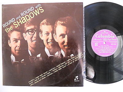THE SHADOWS Round and round LP Italy First issue COLUMBIA MONO 33QPX 8064