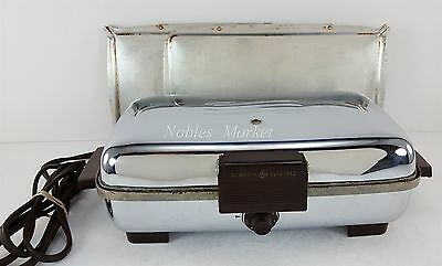 Vintage General Electric Sandwich Grill & Waffle Iron , GE Model G-40 169G40