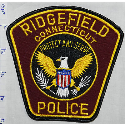 Connecticut, Ridgefield Police Dept Patch
