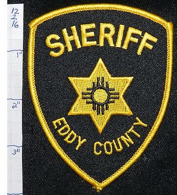 New Mexico, Eddy County Sheriff Dept Black Patch