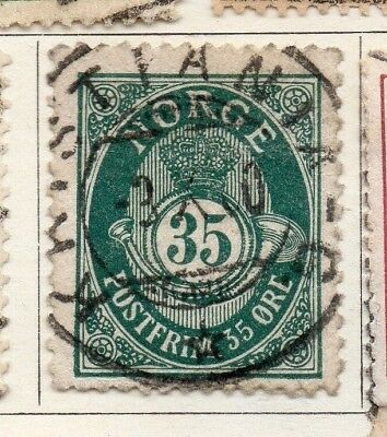 Norway 1894 Early Issue Fine Used 35ore. 128831
