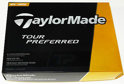 Taylormade Tp Tour Preferred Golf Balls 1X12  Brand New In Box