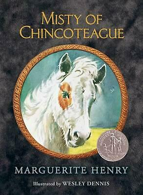 Misty of Chincoteague by Marguerite Henry Hardcover Book (English)