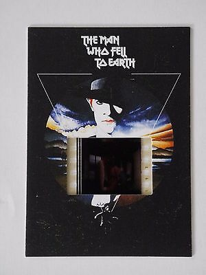 DAVID BOWIE THE MAN WHO FELL TO EARTH Film Cell Card