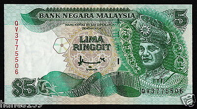MALAYSIA (P35A) 5 Ringgit ND(1998) VF+ Printer: CBN
