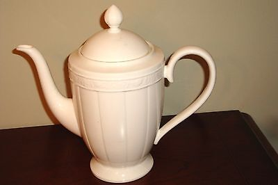 Vileroy & Boch CAMEO WEISS White Tea Pot Bone China Germany