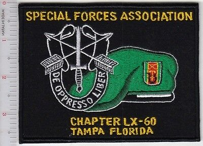 Green Beret US Army Special Forces Association Chapter 60 Tampa Florida