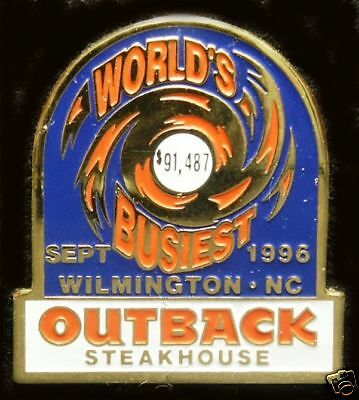 A2496 Outback Steakhouse Wilmington NC Sept 1996