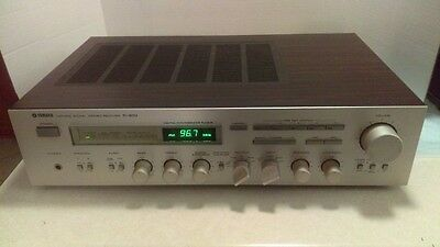 Vintage (1981) Yamaha R-900 Stereo Receiver Silver Face Fully Working L@@K