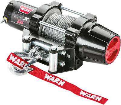Warn Vantage 2000 lb 12V Winch Wire Rope Offroad ATV 4 Wheeler Side By Side