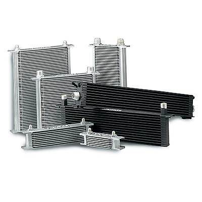 Mocal Standard Duty Engine Oil Cooler 7 Row - 115mm -8 JIC Male Fitting