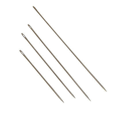 4pcs Needles Hand Sewing Crafts Large Big Eye Manual For Embroidery Tapestry