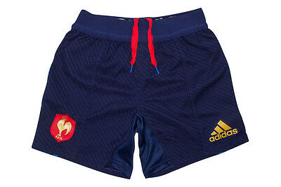 adidas France 2016 Home Players Rugby Shorts