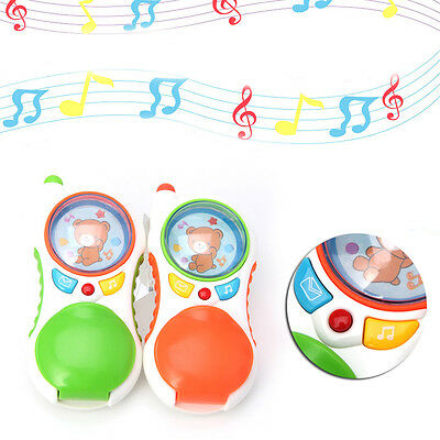 Child Baby Press Button Music Toy Cell Phone Sound Educational Musical Gift Kids