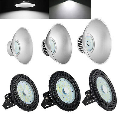 LED High Bay Light UFO 100W 150W 200W 250W Commercial Industrial Lamp Warehouse