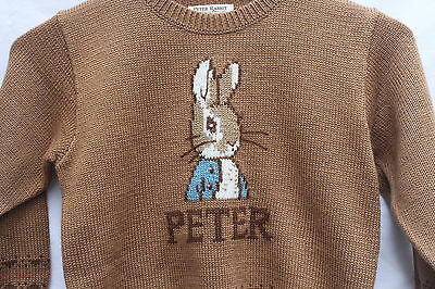 Peter Rabbit knitting Pullover 8-12 month  - by B. Potter