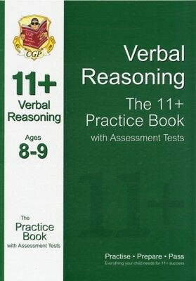 11+ Verbal Reasoning Practice Book with Assessment Tests (Ages 8-. 9781847628190